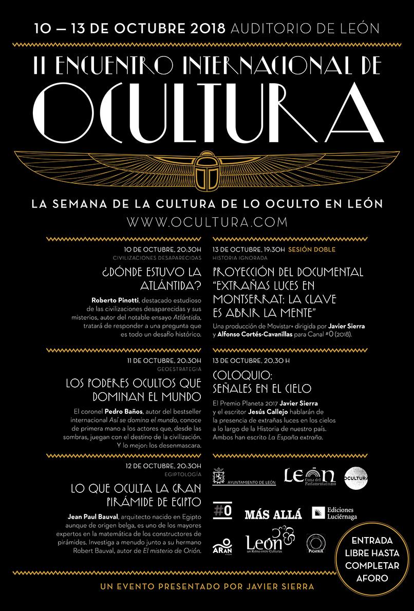 II Encuentro Internacional de Ocultura 2018