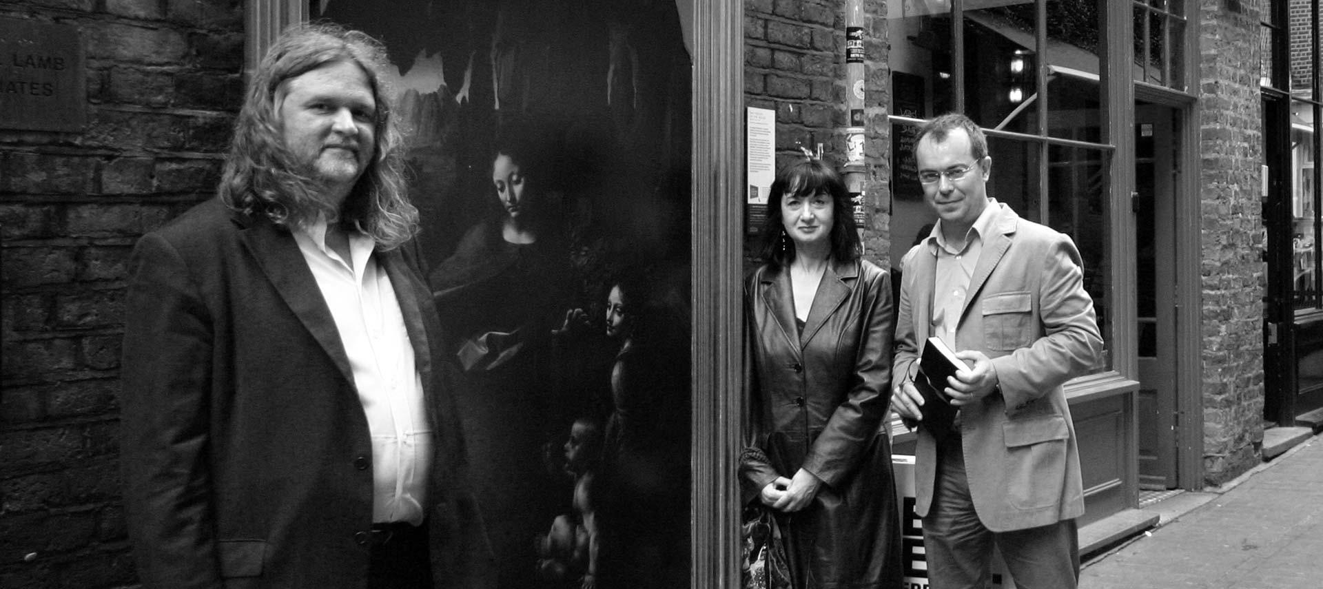 Lynn Picknett, Clive Prince y Javier Sierra